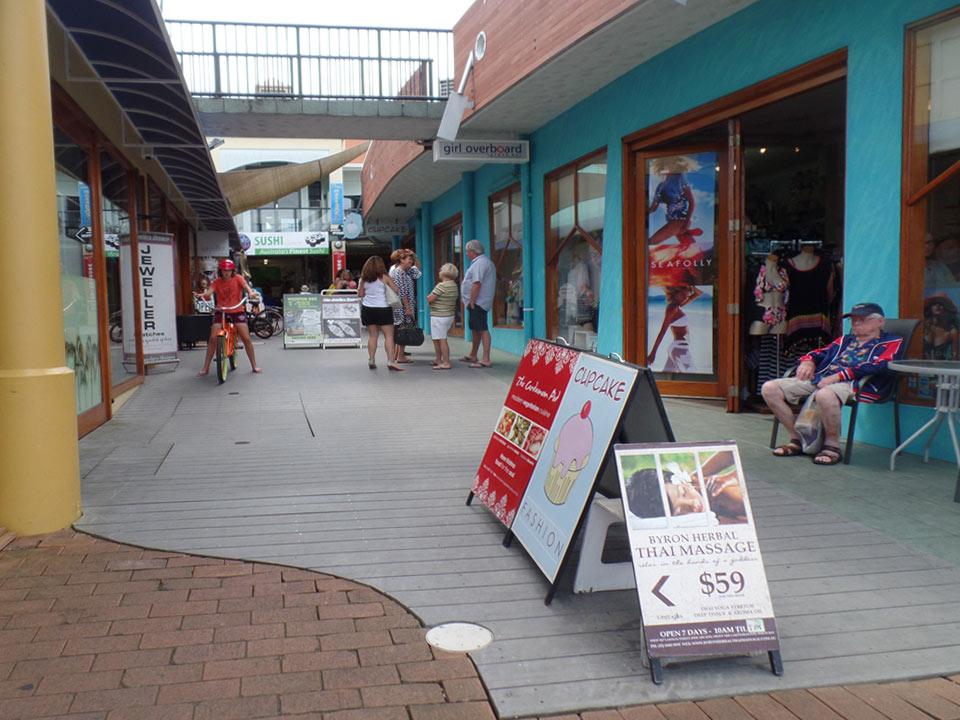Byron Bay shopping