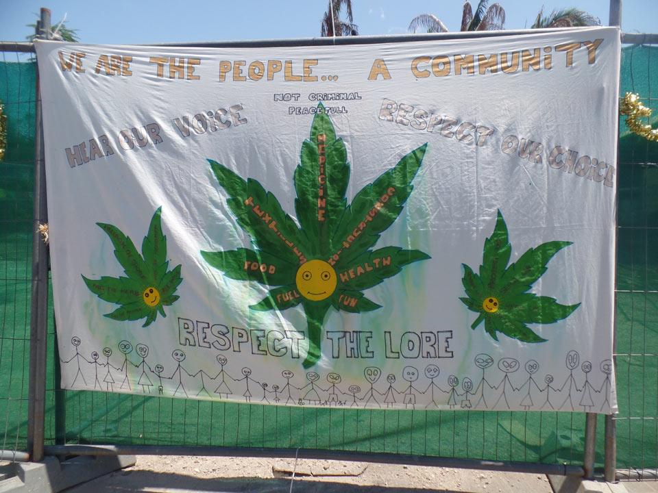 Hippie-Plakat Nimbin