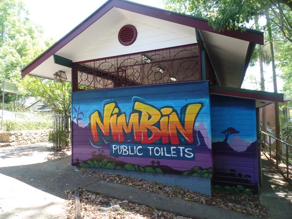 Nimbin public toilet