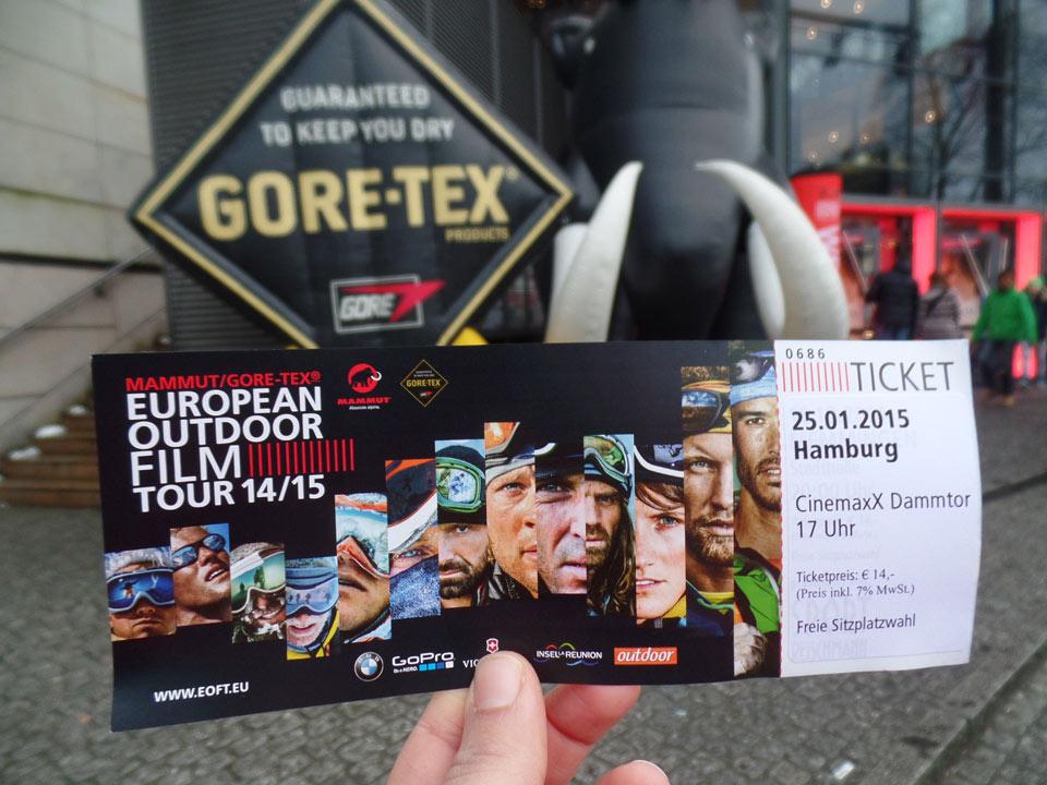 European Outdoor Film Tour Hamburg CinemaxX