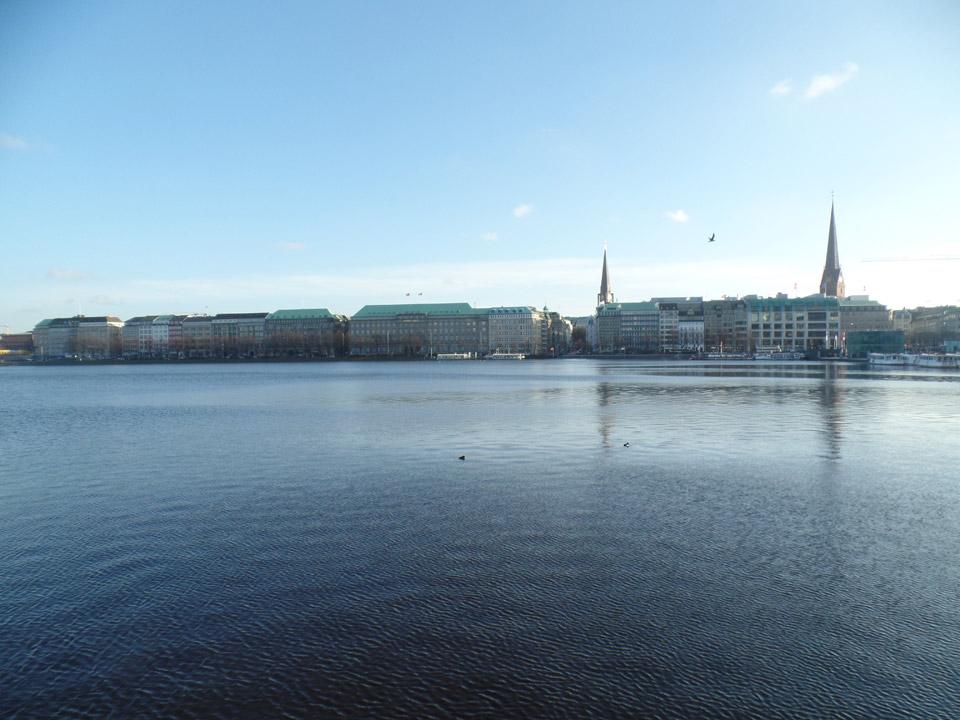 Alster Hamburg Valentinstag