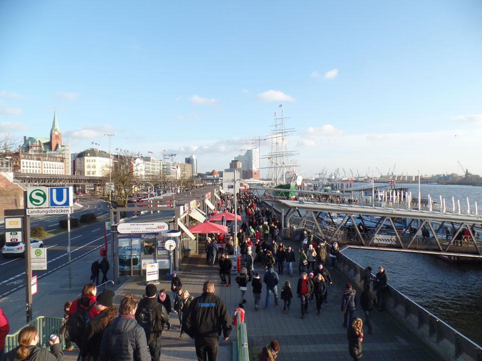 Hafen Hamburg Valentinstag