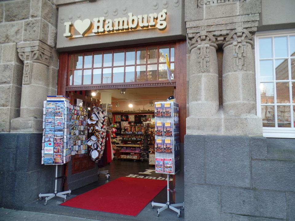 Souvenirladen Hamburg Valentinstag