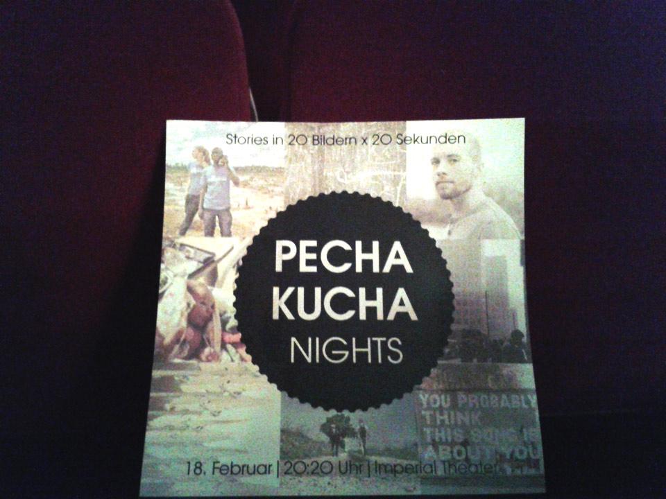 Pecha-Kucha-Flyer