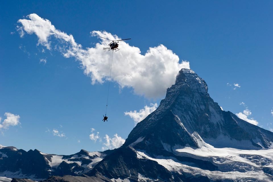 Abenteuer Erde Bergrettung Hubschrauber GEO
