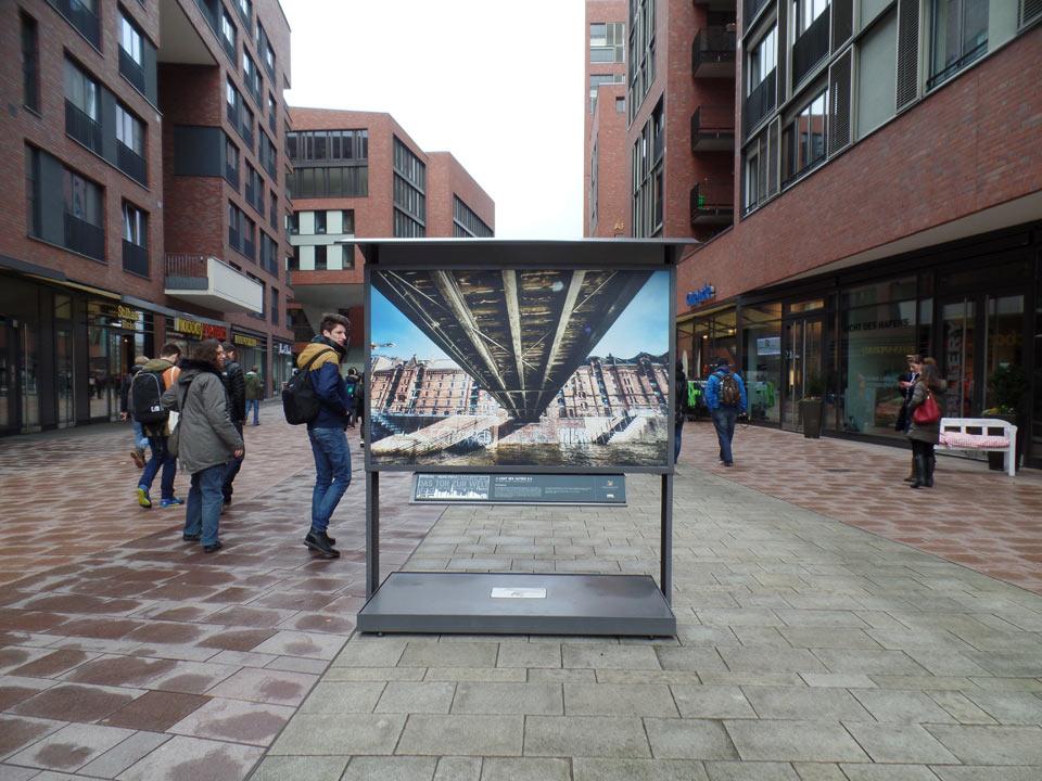 Bild im Bild   HafenCity   Fototour Hamburg