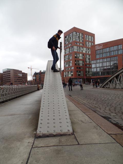 Bridge Climbing Hamburg   Instameet Hamburg   HafenCity
