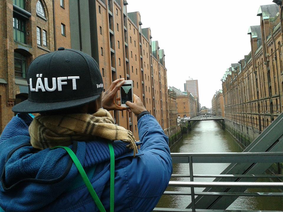Cap läuft | Instameet Hamburg | Fototour Hamburg