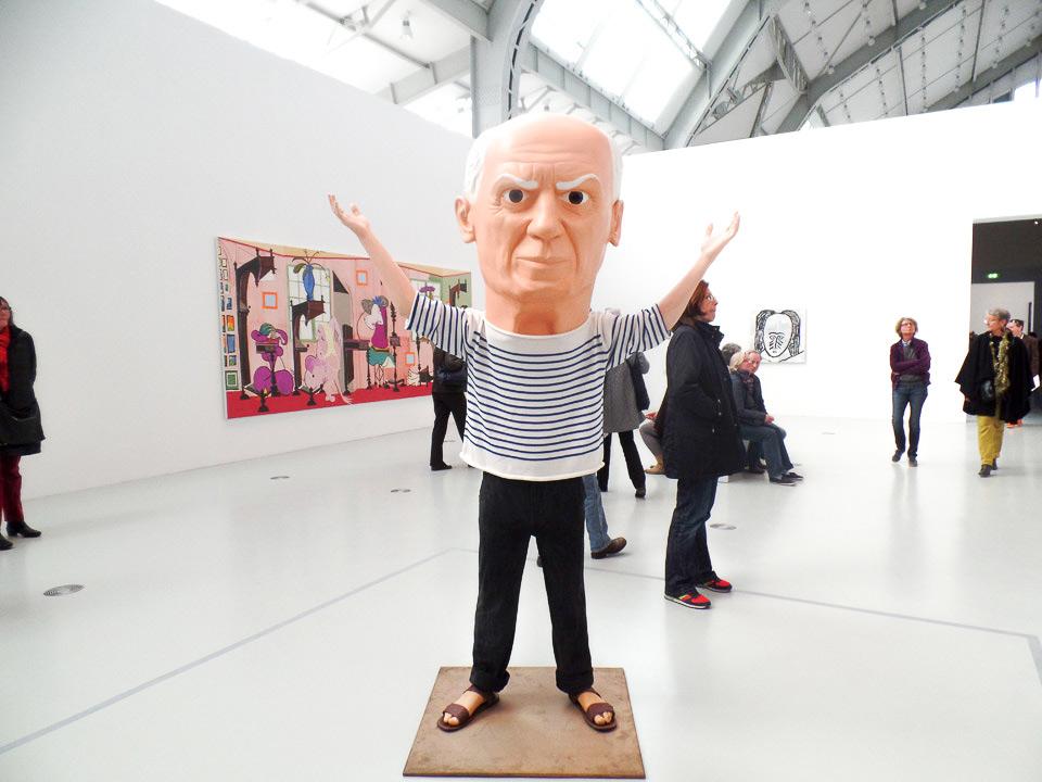 Deichtorhallen Picassoausstellung Maurizio Cattelan