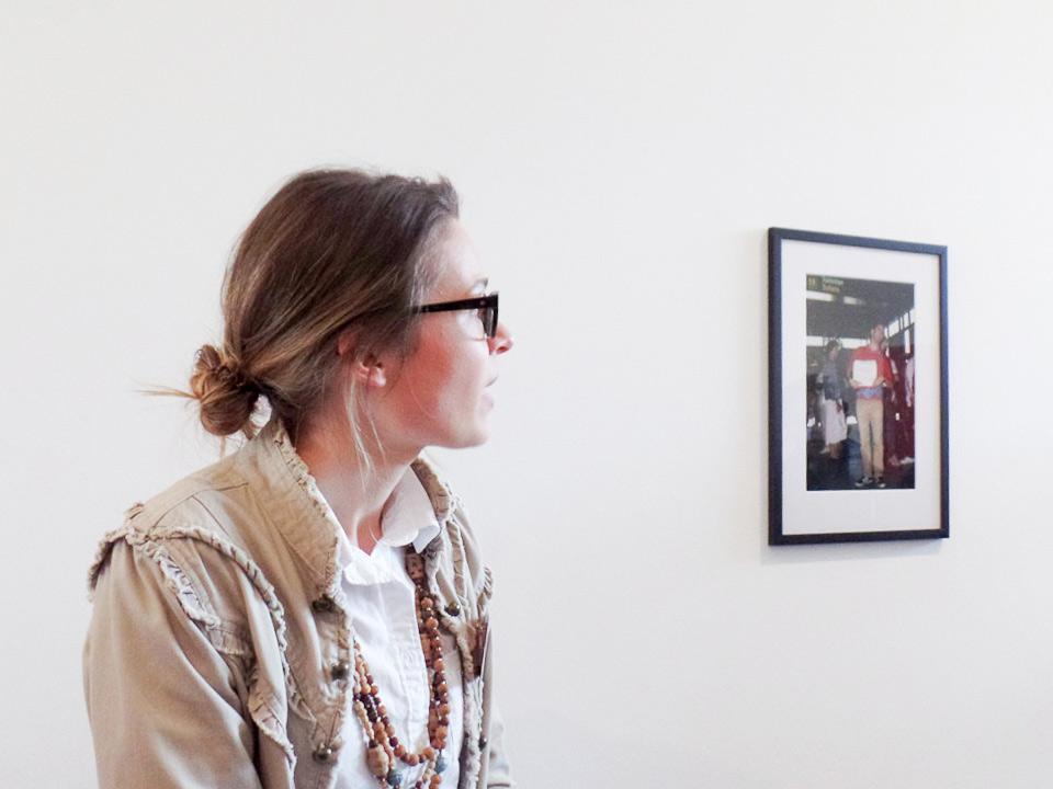 Führung Ausstellung Deichtorhallen Studentin Veronica