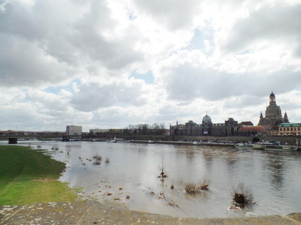 Dresdner Altstadt: Elbe Dresden
