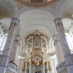 Dresdner Altstadt: Frauenkirche Altar