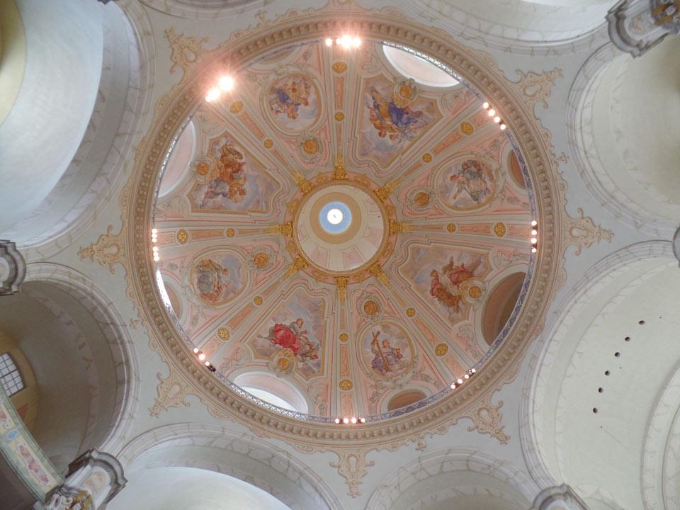 Dresdner Altstadt: Frauenkirche Kuppel