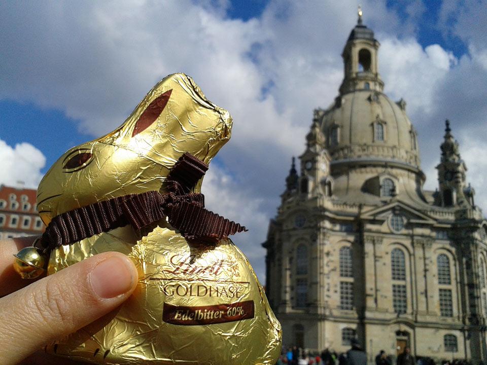 Frauenkirche: Ostern in Dresden