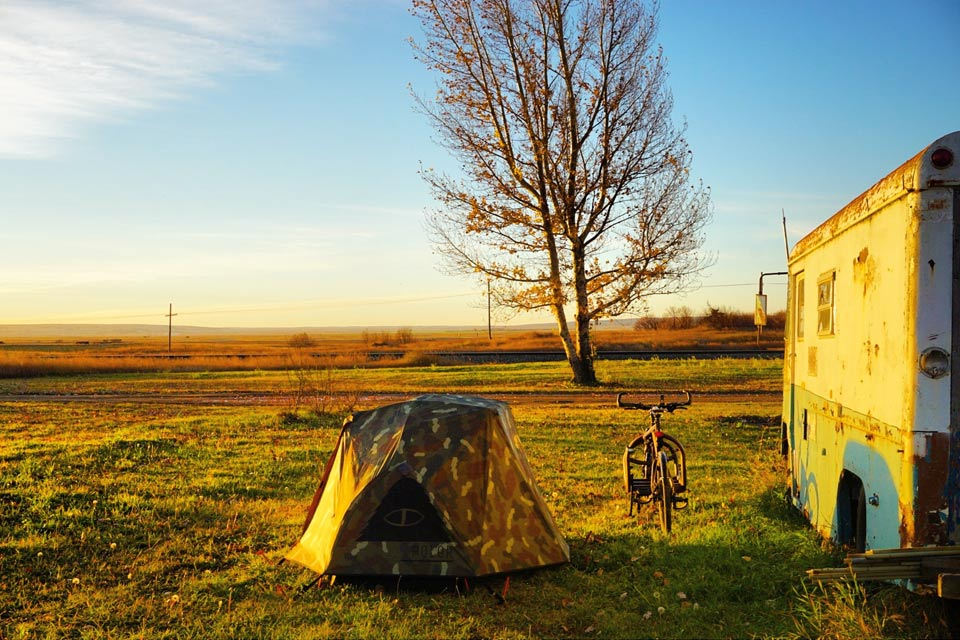 Canada by Cargobike Camping Kanada