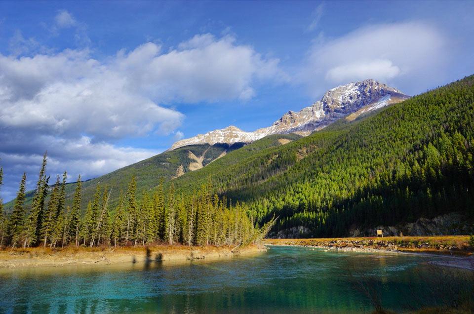 Fahrradtour kanadische Seen canadian lakes