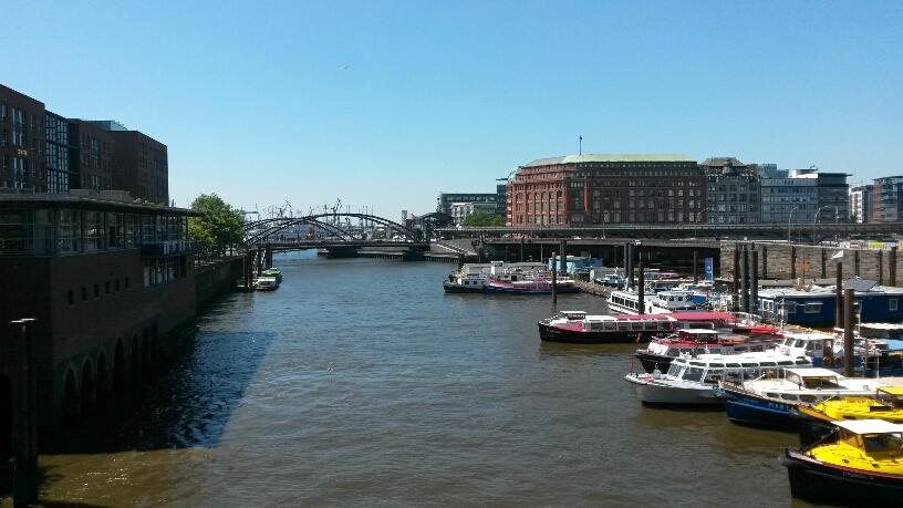 Heißes Wochenende, Hafen Hamburg, Speicherstadt